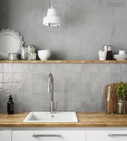 Mallorca 100x100 grey kitchen