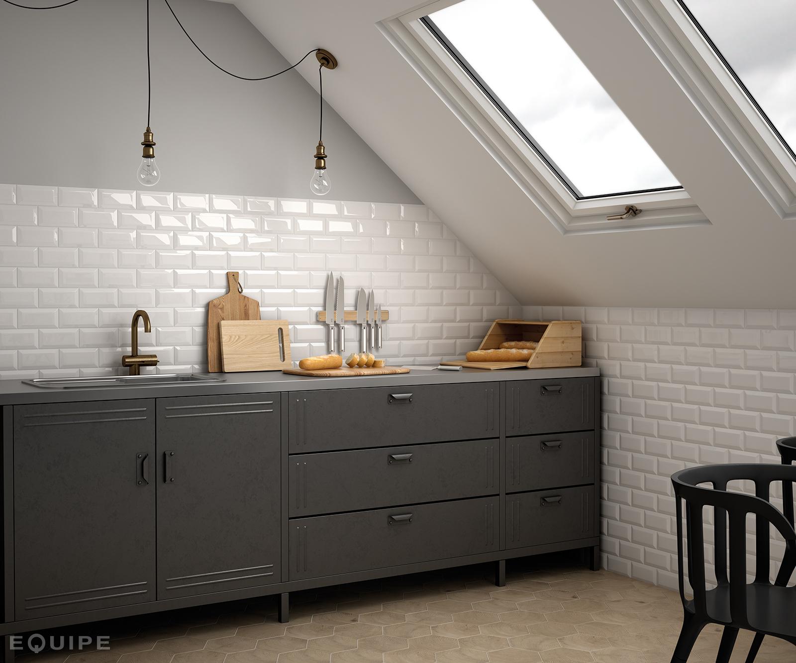 metro white kitchen