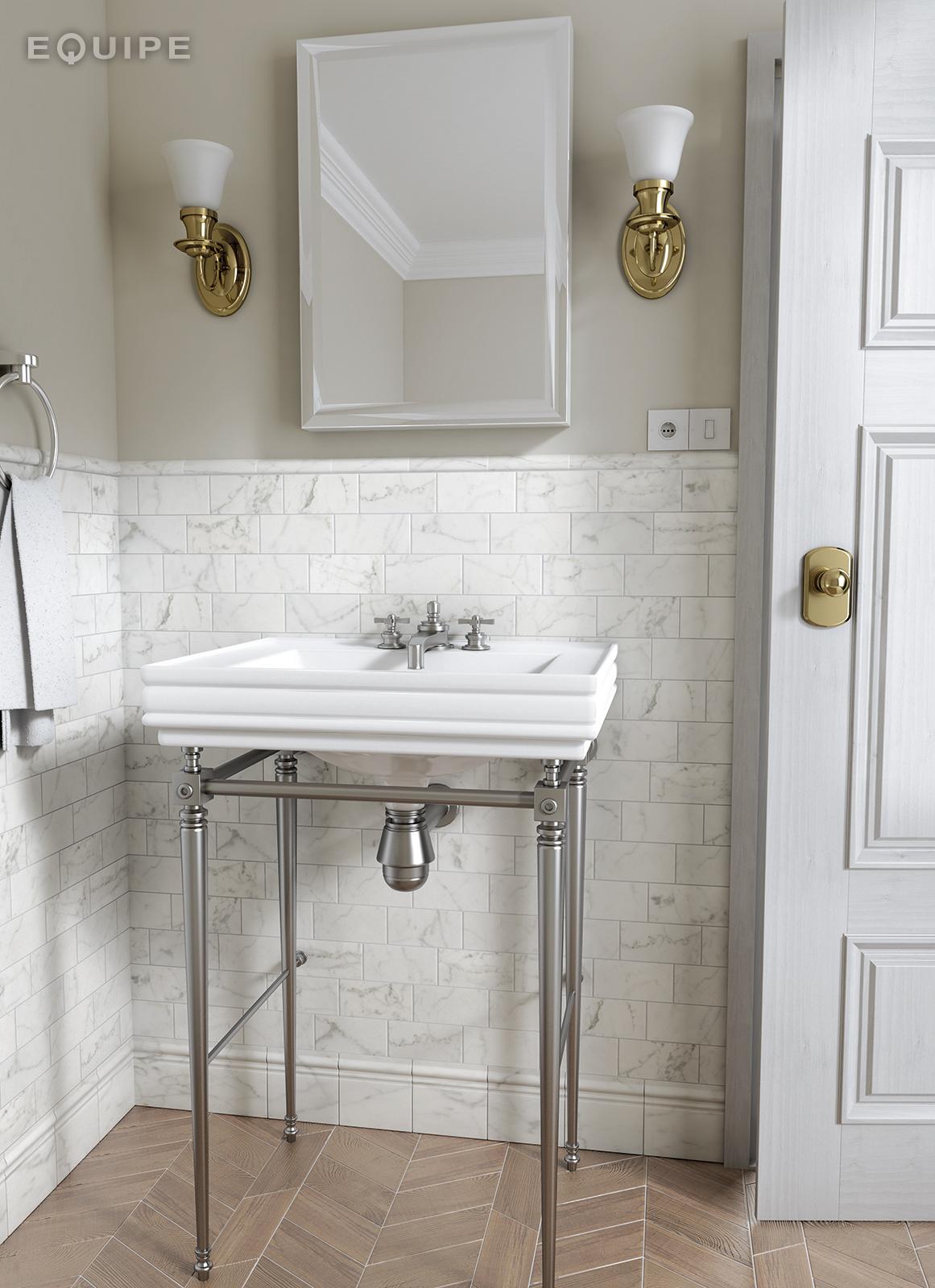 Carrara7,5x15 matt bath
