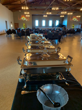Main Hall Buffet Table