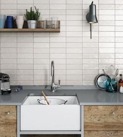 Mallorca 65x200 white kitchen