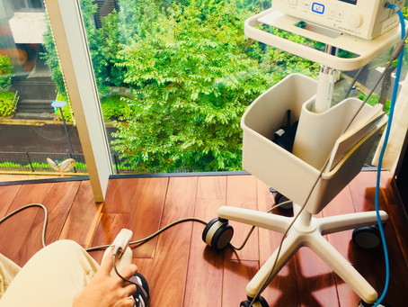 歯医者さんの麻酔の注射が苦手な患者様の処置をしました。