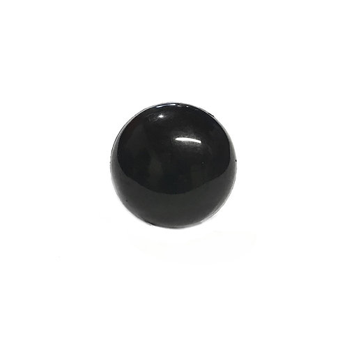 6mm Black Animal eyes  dome washers (5 pairs)