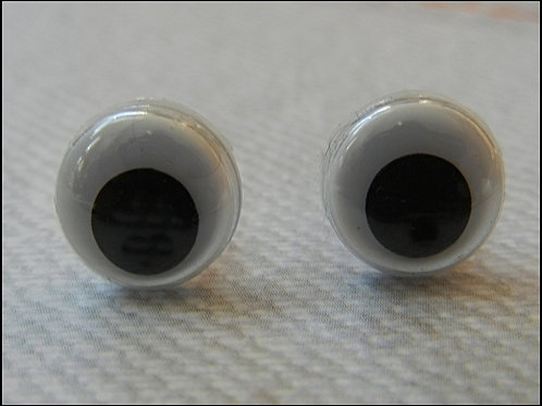 10mm Wiggle Eye with shank (10pcs)