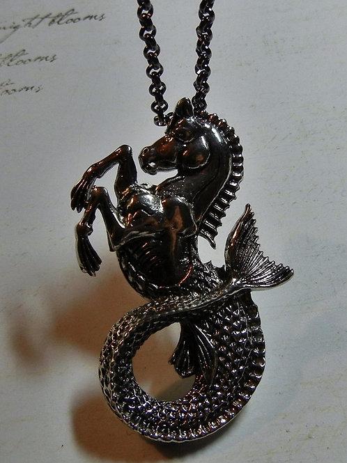 Horse Merman Mermaid Necklace