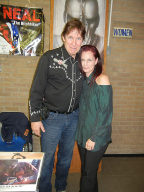 With Ed Neal (Texas Chainsaw fame)
