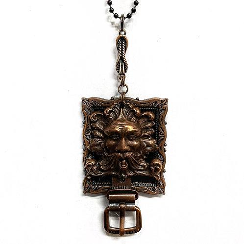 Zeus Copper Coloured Necklace