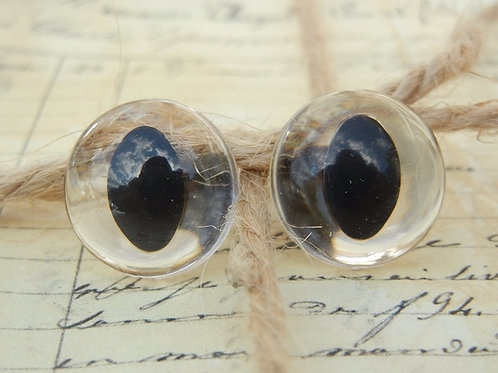 Clear Cat Eyes (5 pairs)