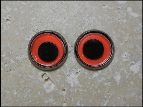 12mm orange wiggle (1pr)