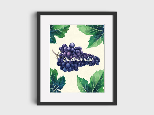 On Cloud Wine  Print