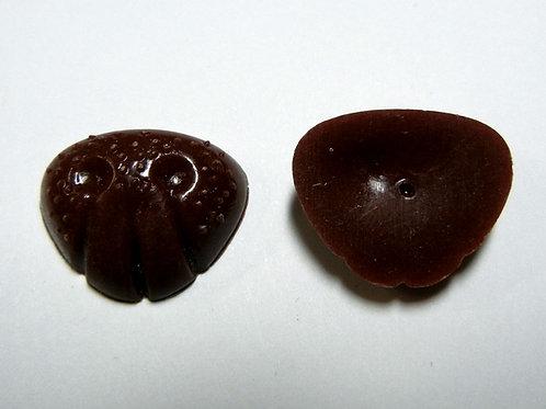 Flat Brown Animal Noses