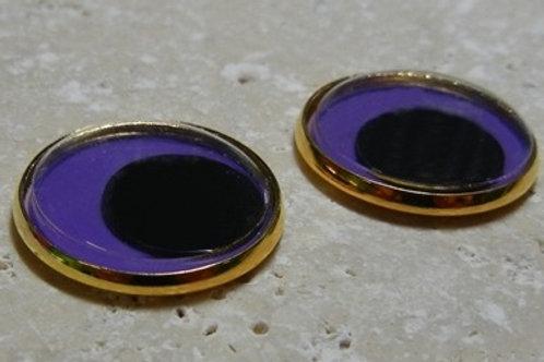 22mm purple wiggle (1pr)