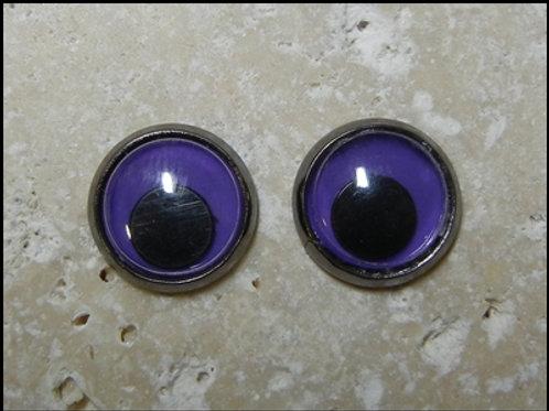 12mm purple wiggle (1pr)