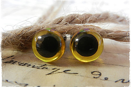 New Yellow  Animal Eyes (5 pairs)