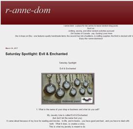 Blog Feature on E&E
