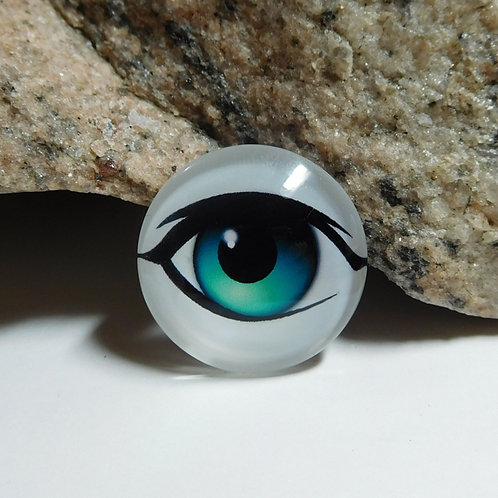 Full Eye Right Glass Eye (1pc)