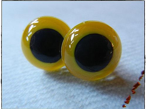 Yellow Animal Eyes (5 pairs)