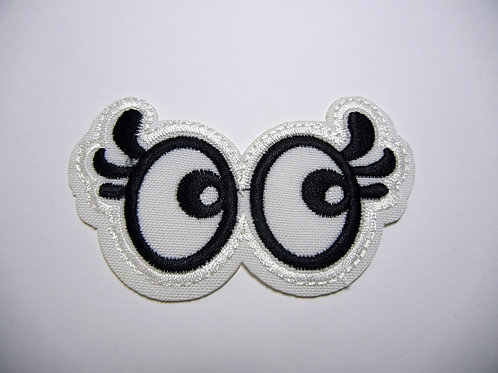 Embroidered Excited Eyes