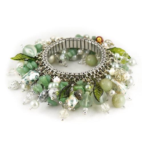 Light Green Nature Cha Bracelet cha017