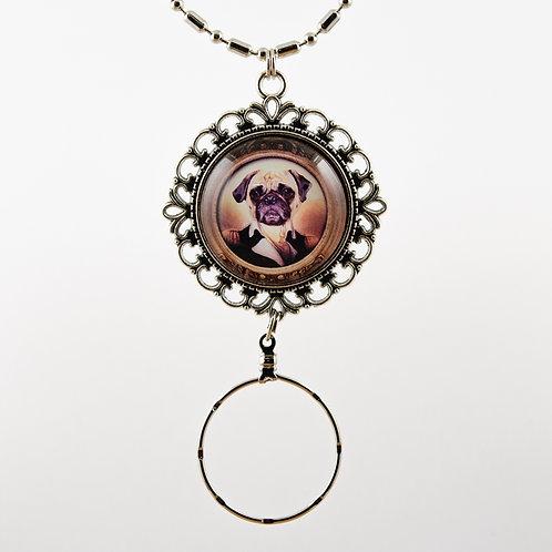 Pug Dog Spec Holder #002