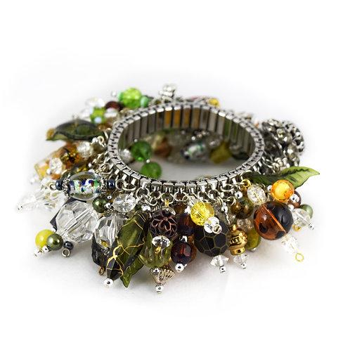 Flower Bead Cha Bracelet cha019