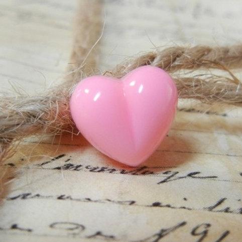 Heart Animal Nose Pink (10pcs)