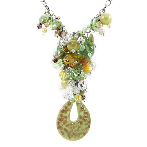 Citrus Murano Y Necklace