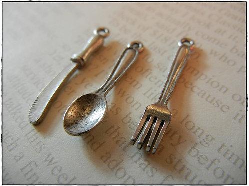 Cutlery set Charms 3pcs