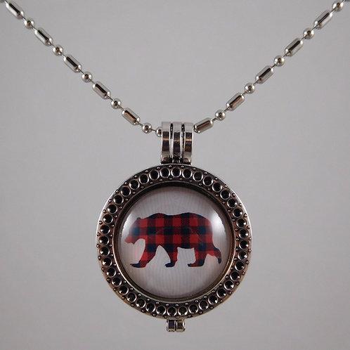 Bear Spirit Animal Necklace