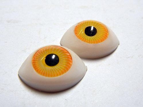 Doll Eye Yellow 1 pair