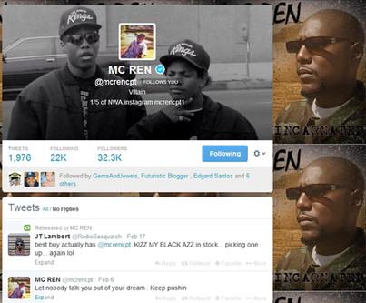 Followed by MC Ren