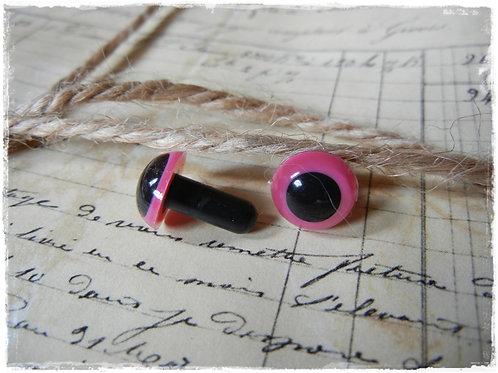 Pink Animal Eyes (5 pairs)