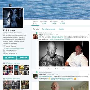 Followed by Rob Archer