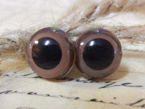 Brown Animal Eyes (5 pairs)
