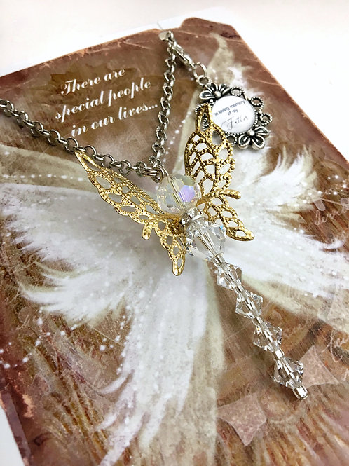 Crystal Memory Dragonfly Ornament
