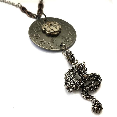 Dragon  Steampunk Necklace