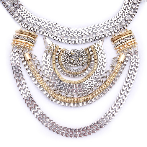Egyptian Statement Collar Necklace