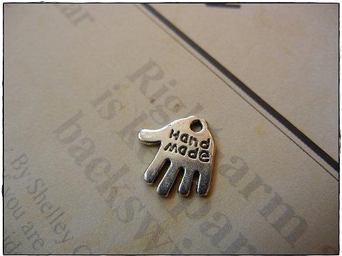Hand Made Hand Charm 10pcs