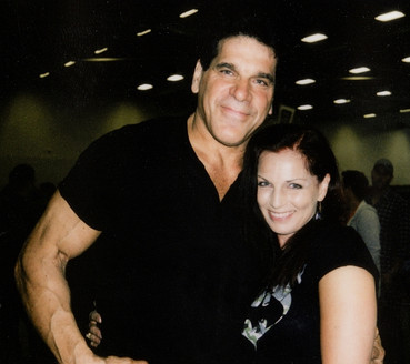With Lou Ferrigno (The ORIGINAL Incredible Hulk)
