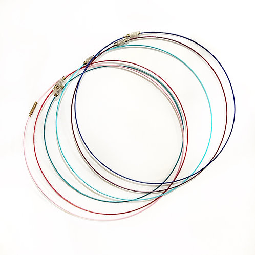 Wire Necklace Blanks