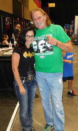 With Jake The Snake Roberts (WWF Hall of Famer)