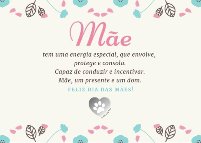 Desejamos à todas as mães um FELIZ DIA DAS MÃES!!! ❤️