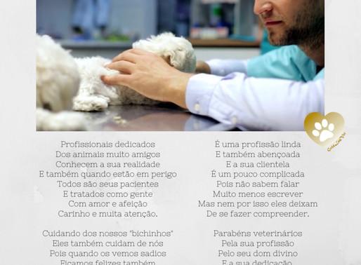 Uma homenagem do Gold Lab Vet à todos os Médicos Veterinários! ❤️