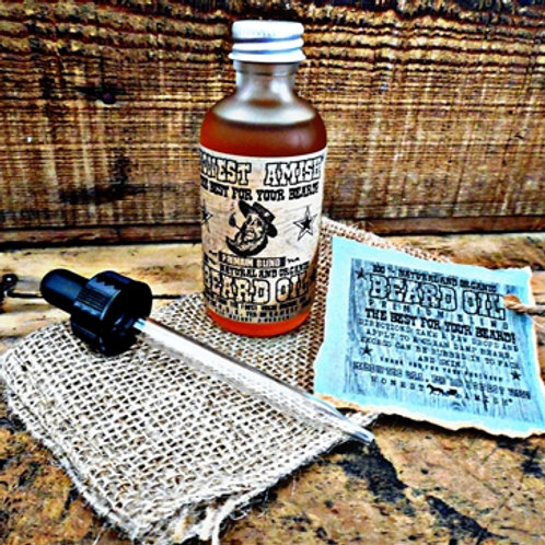 Honest Amish Premium Beard Oil 2oz