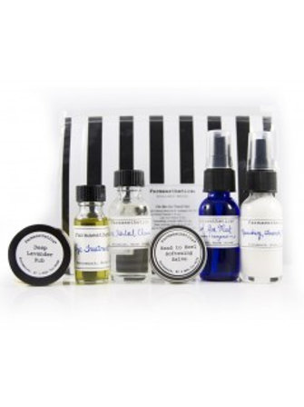 On-The-Go Travel Set by Farmaesthetics