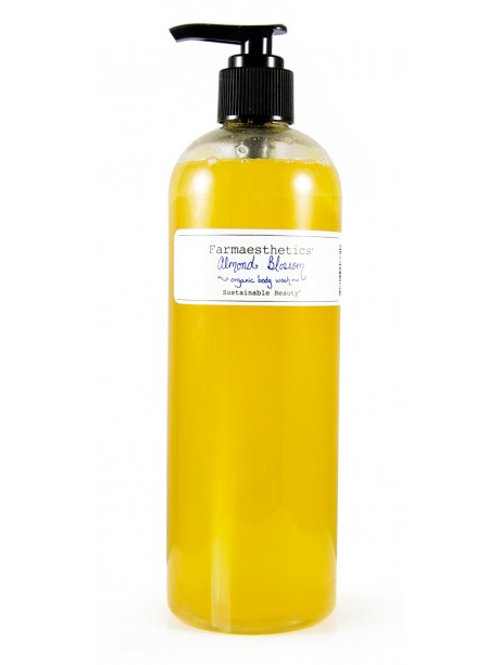 Almond Blossom Organic Body Wash by Farmaesthetics