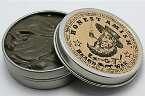 EXTRA Grit Beard Wax -by Honest Amish