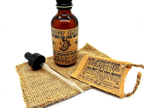 Honest Amish Classic Beard Oil 2oz
