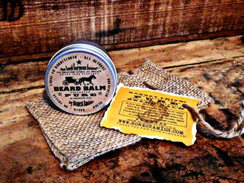 Honest Amish PURE unscented Beard Balm