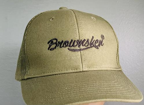 BrownSken/military green
